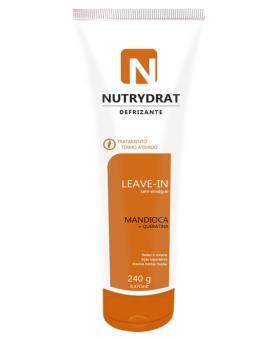 Nutryderm Defrizante de Mandioca com Queratina 240g - 4637