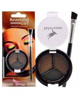 Bella Femme Kit Delineador de Sobrancelha - BF10022