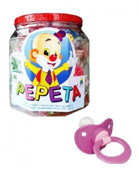Pepeta Chupeta Redonda de Silicone POP T2 Pote com 25 unidades - 0117-P2
