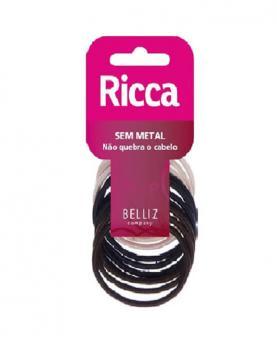 Ricca Elástico para Cabelo sem Metal 3 mm - 0892