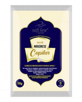 Soft line Sachê Creme de Hidratação Nutritiva Maionese Capilar 50g - 30011