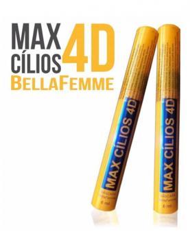 Bella Femme Máscara de Cílios Amarelo Max 4D 6ml - BF10044