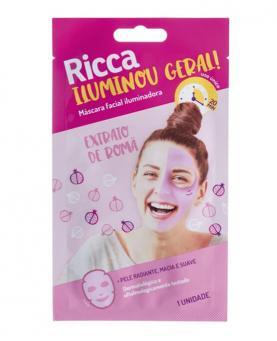Ricca Máscara Facial Iluminou Geral - 3755