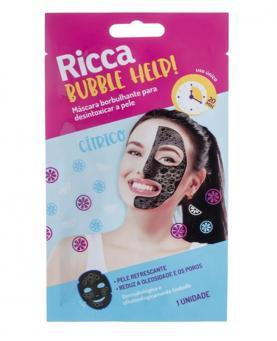 Ricca Máscara Facial Borbulhante Bubble Help - 3753