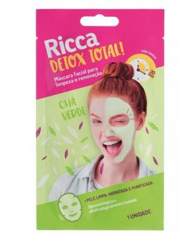 Ricca Máscara Facial Detox Total - 3754