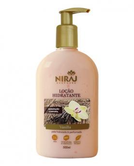 Niraj Loção Hidratante Vanilla 300ml - 43569