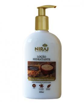 Niraj Loção Hidratante Aveia, Colágeno e Elastina 300ml - 43552