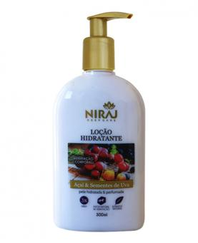 Niraj Loção Hidratante Açaí e Sementes de Uva 300ml - 43538
