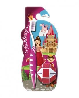 Green Escova Macia Infantil + Brinquedo Fantasy - IN105
