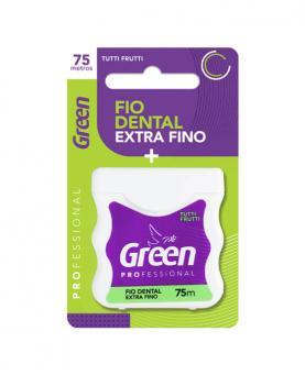 Green Fio Dental Sabor Tutti-Frutti 75 metros - F1703