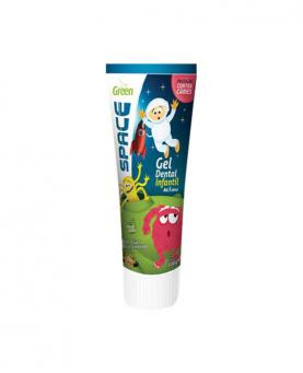 Green Gel Dental Infantil Space sem Flúor 100g - CD801