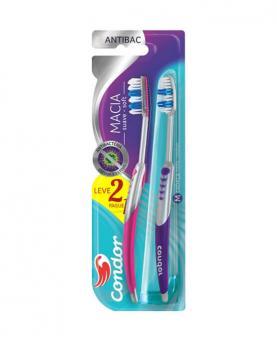 Condor Escova Dental Antibac Leve 2 Pague 1 - 8056