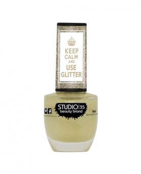Studio35 Glitter #AMOCHAMPAGNE 9ml - 90000