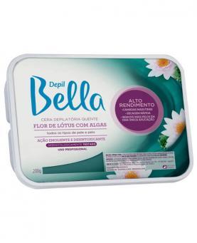 Depil Bella Cera Quente Depilatória Flor de Lótus com Algas 200g - 84836