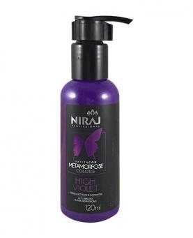 Niraj Matizador Metamorfose Colors High Violet 120ml - 34107