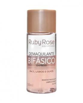 Ruby Rose Demaquilante Bifásico Todos os Tipos de Pele 120ml - HB302