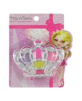 Discoteen Estojo de Maquiagem de Sombra Coroa - 86504-A