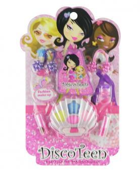 Discoteen Estojo Fashion Make Up Concha - 86507-B