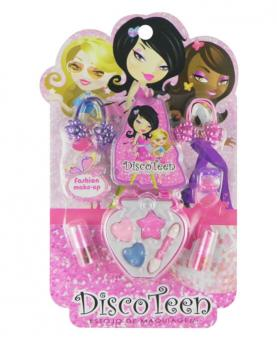 Discoteen Estojo Fashion Make Up Morango - 86507-D