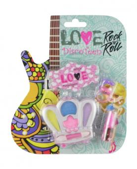 Discoteen Estojo Love Rock in Roll Coroa - 86508-C
