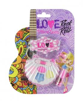 Discoteen Estojo Love Rock in Roll Concha - 86508-D