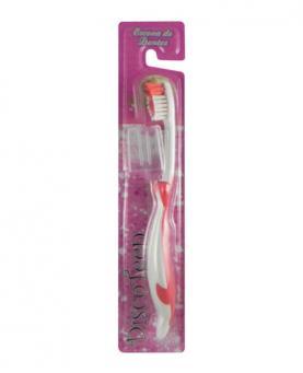Discoteen Escova Dental Macia + Protetor - BA6264