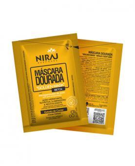 Niraj Máscara Dourada Golden Sachê 8g - 34576