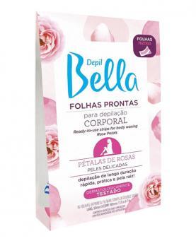 Depil Bella Folhas Prontas Corporal Pétalas de Rosa com 16 folhas - PA0519