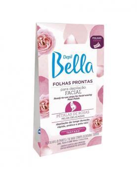 Depil Bella Folhas Prontas Pétalas de Rosa com 16 folhas - 85215
