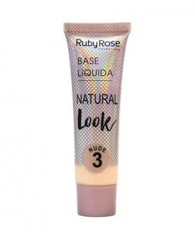 Ruby Rose Base Líquida Natural Look Nude cor 03 - HB8051-N3