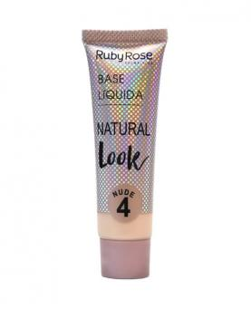 Ruby Rose Base Líquida Natural Look Nude cor 04 - HB8051-N4