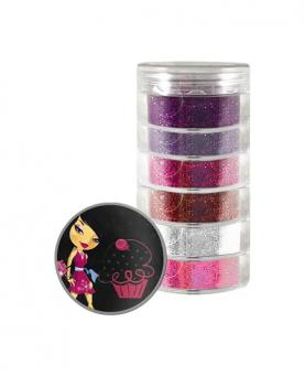 Discoteen Sombra Glitter Love - 80521