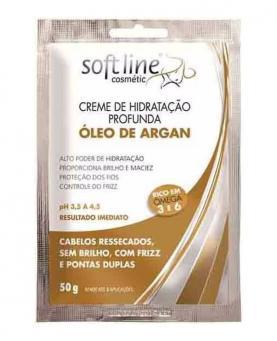 Soft line Sachê Creme de Hidratação Profunda Óleo de Argan 50g - 52297