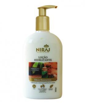 Niraj Loção Hidratante Óleos Essenciais 300ml - 43521