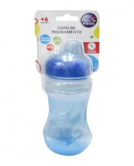 Pais e Filhos Copo de Treinamento Azul 200ml - 7186