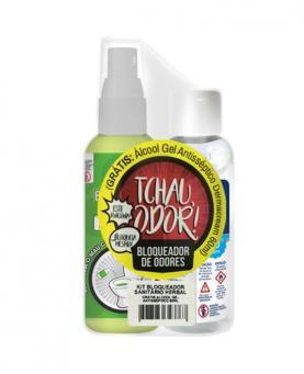 Soft Clean Kit Bloqueador de Odores Herbal 60ml para Sanitários + Álcool em Gel 60ml - 34544