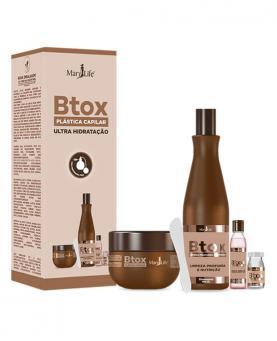 Bio Instinto Kit Plástica Capilar Btox Ultra Hidratação com 4 unidades - 86147
