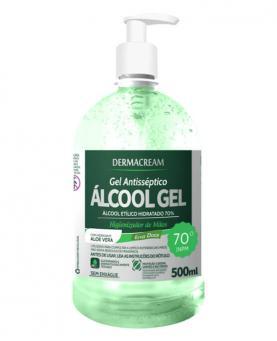 Dermacream Álcool Gel Erva Doce 500ml - 34068