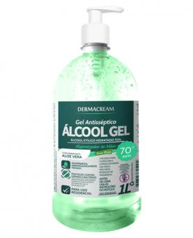 Dermacream Álcool Gel Erva Doce 1 Litro - 34134