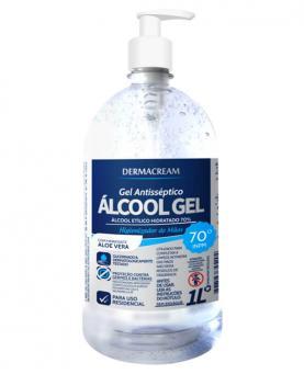Dermacream Álcool Gel 1 Litro - 34520
