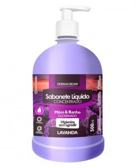 Dermacream Sabonete Líquido Lavanda 500ml - 34145