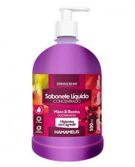 Dermacream Sabonete Líquido Hamamelis 500ml - 34197