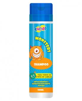Eco Toys Monsters Shampoo Hipoalergênico 300ml - 43790