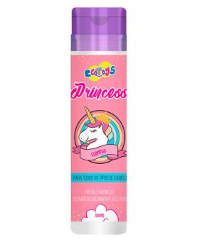 Eco Toys Princess Shampoo Hipoalergênico 300ml - 43813