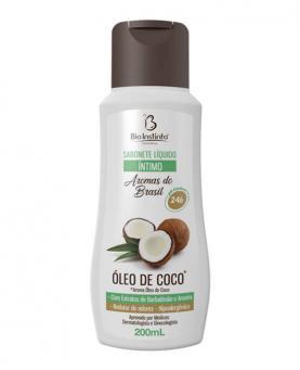 Bio Instinto Sabonete Líquido Íntimo Óleo de Coco 200ml - 86581