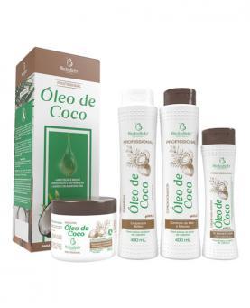 Bio Instinto Kit Óleo de Coco Profissional com 4 unidades - 86444