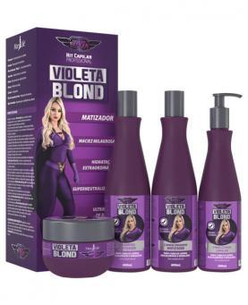 Bio instinto Kit Violeta Blond Supermatizador com 4 unidades - 84679