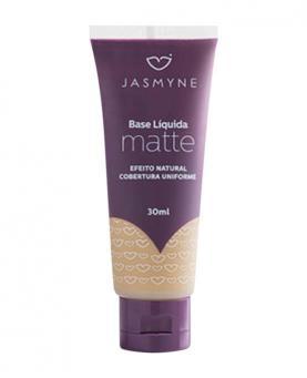 Jasmyne Base Líquida Matte efeito Natural cor 02 30ml - 10054