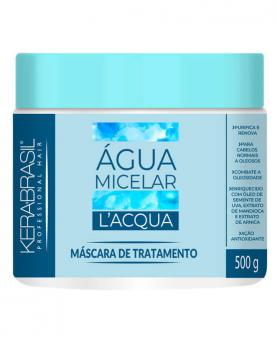 Kera Brasil Água Micelar L'Aqua Máscara de Tratamento 500g - 45213