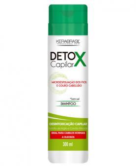 Kera Brasil Detox Capilar Shampoo Sem Sal 300ml - 45374